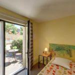 Chambre double terrasse de l'Hôtel du Mas***