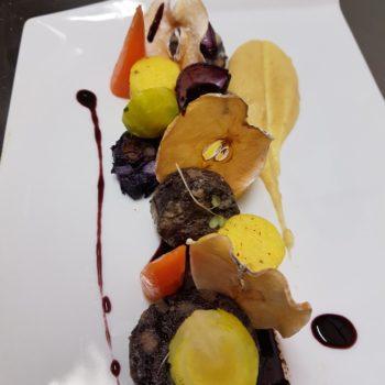 Sébastien Darré chef du restaurant de l'Hôtel du Mas ***