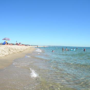 La plage de Gruissan - Hotel du Mas***