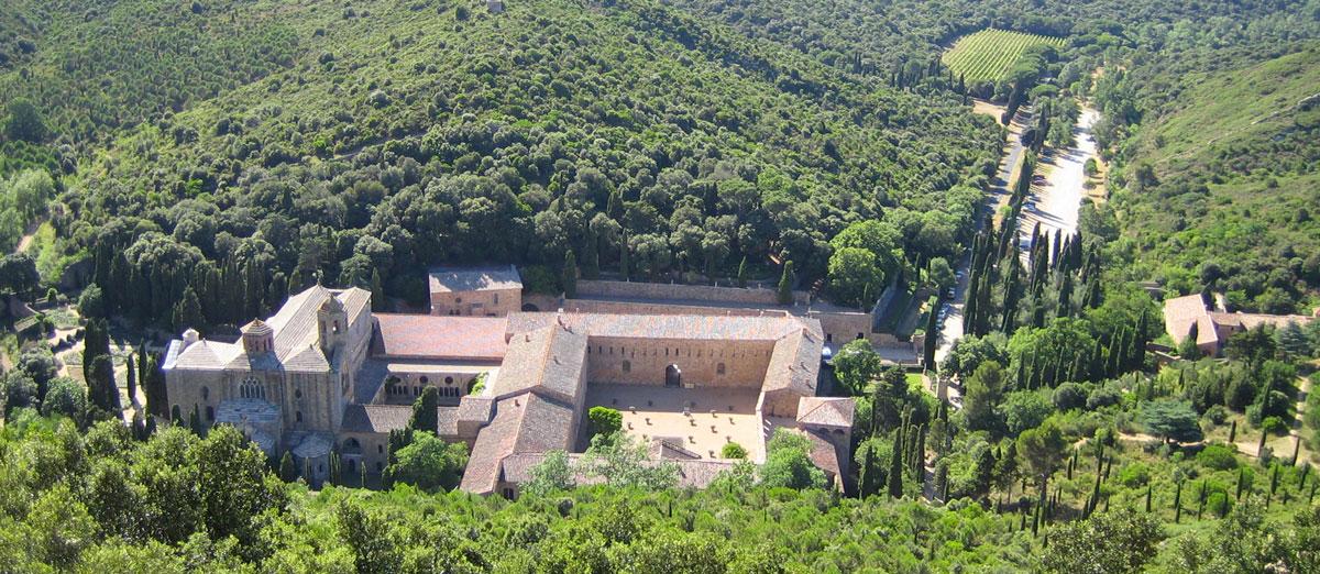 L'abbaye de Fontfroide - Hôtel du Mas***